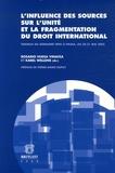 Karel Wellens et Rosario Huesa Vinaixa - L'influence des sources sur l'unité et la fragmentation du droit international - Travaux du séminaire tenu à Palma, les 20-21 mai 2005.