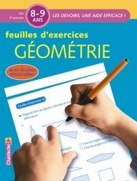 Karen Bastin - Feuilles d'exercices Géométrie 8-9 ans CE2.