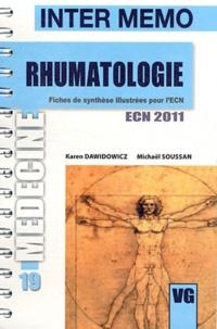 Karen Dawidowicz et Michaël Soussan - Rhumatologie ecn 2011.