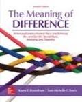 Karen E. Rosenblum et Toni-Michelle C. Travis - The Meaning of Difference.