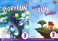 Karen Saxby et Jane Ritter - Storyfun 3 Student's Book ; Home Fun Booklet 3 - Pack en 2 volumes.