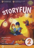Karen Saxby et Melissa Owen - Storyfun for Starters 2 Student's Book with Online Activities and Home Fun Booklet 2 A1-A2 - For the revised Cambridge English: Young Learners (YLE).