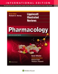 Karen Whalen - Lippincott Illustrated Reviews, Pharmacology.