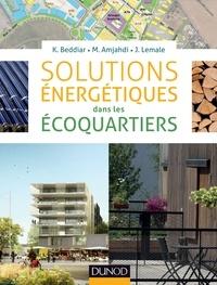 Karim Beddiar et Mohamed Amjahdi - Solutions énergétiques dans les écoquartiers.
