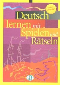 Karin Müller - Deutsch lernen mit... Spielen und Rätseln.