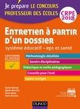 Karine Bonnal et Agnès Morcillo - Entretien à partir d'un dossier CRPE - Système éducatif, EPS et santé.