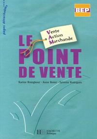 Karine Brangbour et Anne Rover - Le point de vente BEP Vente Action Marchande.