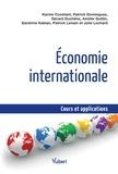 Karine Constant et Patrick Domingues - Economie internationale.