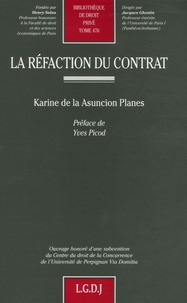 Karine de la Asuncion Planes - La réfaction du contrat.