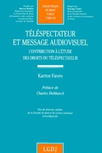 Téléspectateur et message audiovisuel. Contribution à létude des droits du téléspectateur.pdf