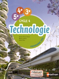 Karine Fossa-Simon et Marcel Genco - Technologie 5e 4e 3e Cycle 4.
