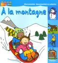 Karine Harel et  Pielle - A la montagne.