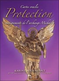 Karine Malenfant - Cartes oracles Protection - Enseignements de l'archange Michael.