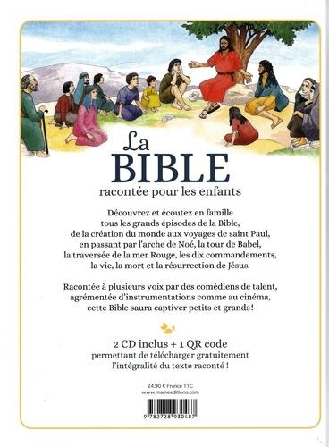 La bible racontée pour les enfants  avec 1 CD audio