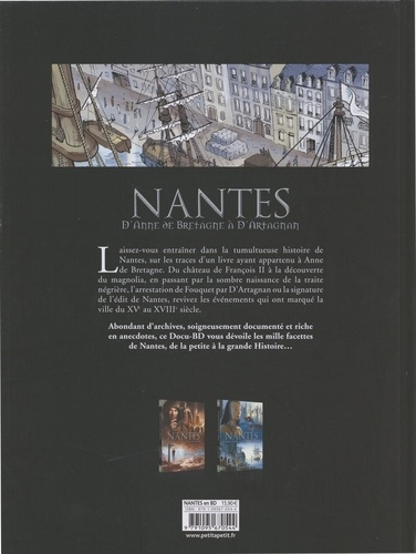 Nantes Tome 2 D'Anne de Bretagne à d'Artagnan. De 1440 à 1789