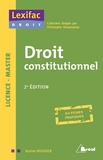 Karine Roudier - Droit constitutionnel Licence-Master.