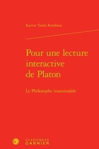 Deedr.fr Pour une lecture interactive de Platon - Le philosophe insaisissable Image