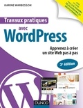 Karine Warbesson - Travaux pratiques avec WordPress.