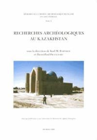 Karl Baipakov et Henri-Paul Francfort - Recherches archéologiques au Kazakhstan.