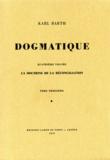 Karl Barth - Dogmatique - Tome 23.