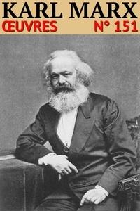 Karl Marx - Karl Marx - Oeuvres - Classcompilé n° 151.