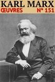 Karl Marx - Karl Marx - Oeuvres - N° 151.