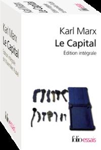 Karl Marx et Maximilien Rubel - Le Capital Coffret en 2 volumes : Livre 1 ; Livres 2 et 3.