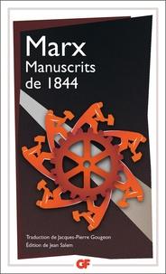 Karl Marx - Manuscrits de 1844.