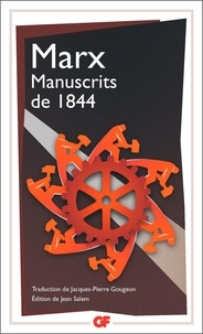 Karl Marx - Manuscrits de 1844.