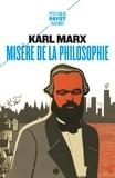 Karl Marx - Misère de la philosophie.
