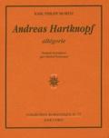 Karl-Philipp Moritz - Andreas Hartknopf - Allégorie.