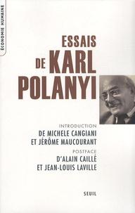 Karl Polanyi - Essais.