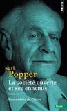 Karl Popper - La société ouverte et ses ennemis Tome 1 : L'ascendant de Platon.