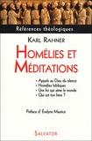 Karl Rahner - Homélies et Méditations.