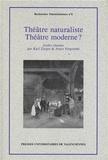 Karl Zieger et Amos Fergombé - Théâtre naturaliste - Théâtre moderne ?.