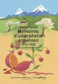 Mémoires d'un orphelin arménien (1914-1920) - Karnig Panian pdf epub