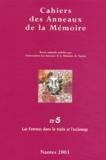 Suzanne Miers et Yolande Behanzin - Cahiers des Anneaux de la Mémoire N° 5/2003 : Les Femmes dans la traite et l'esclavage.