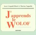 Jean-Léopold Diouf et Marina Yaguello - J'apprends le wolof. 1 CD audio MP3