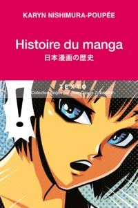 Karyn Poupée - Histoire du manga - L'école de la vie japonaise.