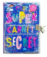 Kat Kalindi - Mon super carnet secret - Avec + de 50 autocollants.