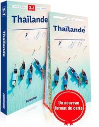 Katarzyna Byrtek - Thaïlande - Guide + Atlas + Carte 1/1650000.