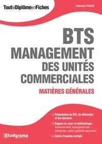 Katarzyna Fossati - BTS Management des Unités Commerciales - Matières générales.