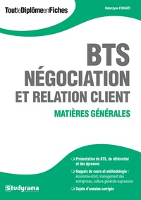 Histoiresdenlire.be BTS Négociation et relation client - Matières générales Image