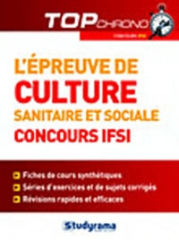 Katarzyna Fossati - L'épreuve de culture générale et sociale - Concours IFSI.