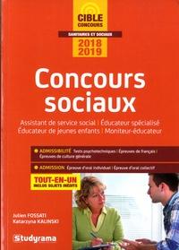 Katarzyna Kalinski et Julien Fossati - Concours sociaux.