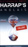 Kate Nicholson et Anna Stevenson - Harrap's Petit anglais-français/français-anglais - Collège.