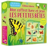 Kate Nolan et Gareth Lucas - Les petites bêtes - Jeu de loto et jeu de mémoire - 4 planches, 36 cartes et un livre.