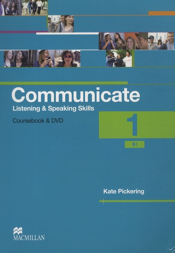 Kate Pickering - Communicate - 1 - Student's Coursebook. 1 DVD + 2 CD audio