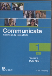 Kate Pickering - Communicate 1 - Teacher's Multi-ROM. 1 Cédérom