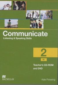 Kate Pickering - Communicate 2 - Teacher's CD-ROM and DVD. 1 Cédérom + 1 DVD